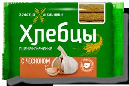 Хлебцы с чесноком